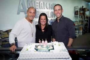 Les, Ashley & Seth celebrate 100 episodes of HARDCORE PAWN.