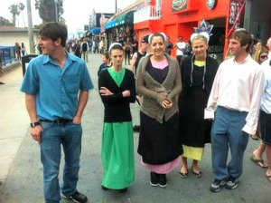 BREAKING AMISH: LA cast.