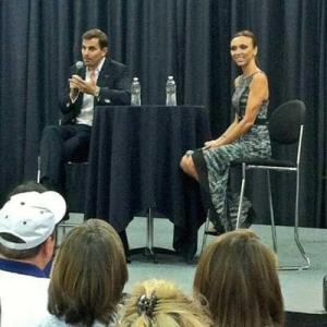 The Rancics at the 10TV Health & Fitness Expo in Ohio. A fan photo posted on the show's website
