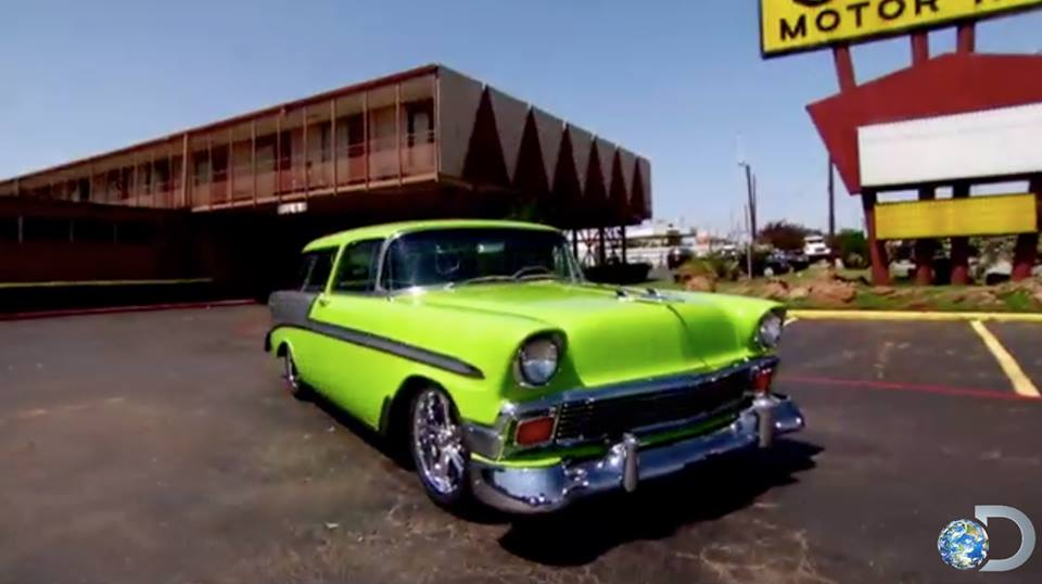 "Dale Jr.'s ""Diet Mountain Dew"" build on FAST N' LOUD."
