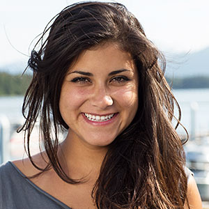 Kodiak, Alaska native, Sabina