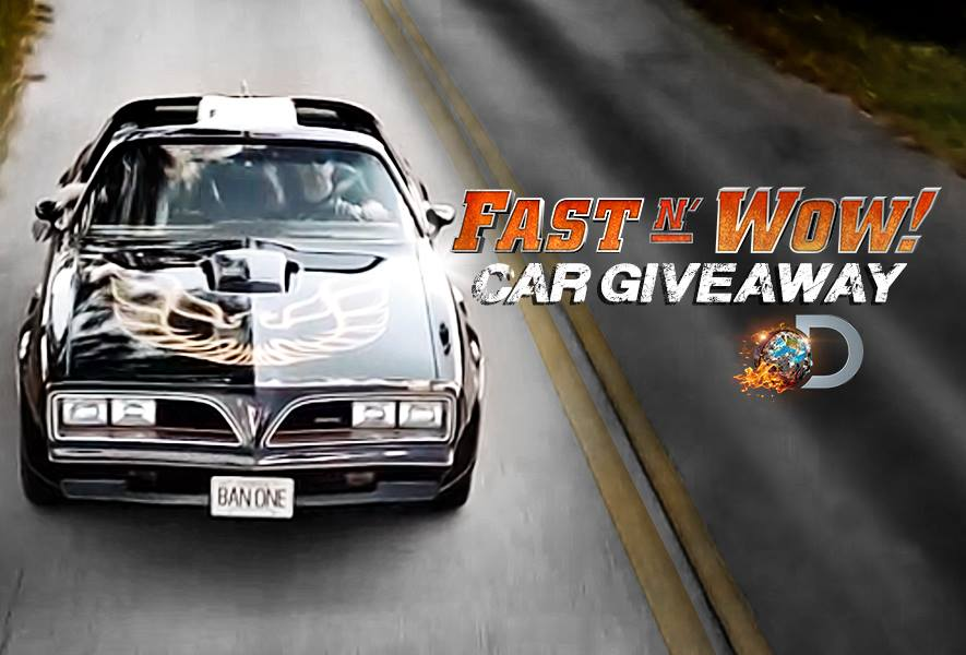 One lucky fan will win the FAST N' LOUD Bandit car–check out the
