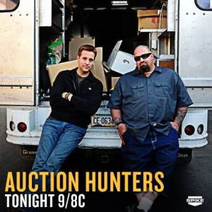 Allen Haff & Ton Jones on AUCTION HUNTERS