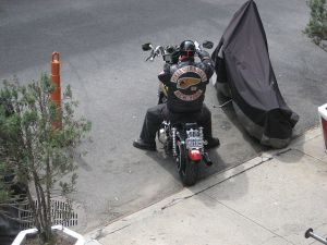 Unidentified Hells Angel Member