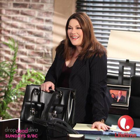 "Brooke Elliot as Jane Bingum on ""Drop Dead Diva"""