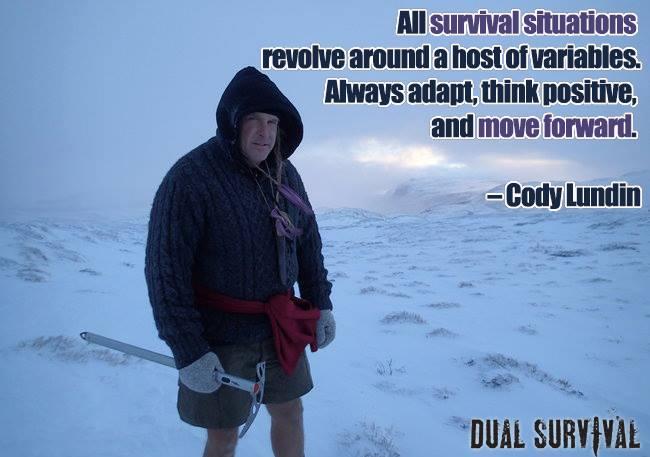 Cody lundin fired cody lundin dual survival
